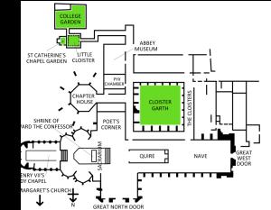 Westminster Abbey floor plan