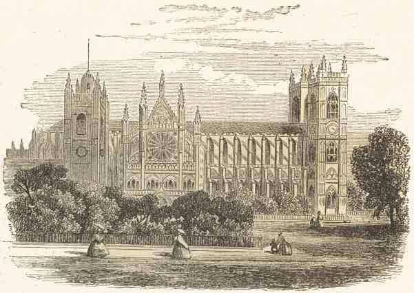 Westminster Abbey sketch
