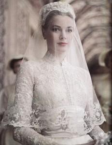 Grace Kelly wedding dress bodice