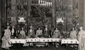 Bracebridge Dinner circa 1927