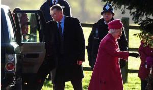 Sandringham Christmas - 2013 Queen arriving at church