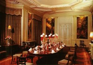 Sandringham Christmas - dining table 1