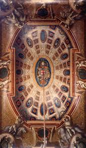 Hampton Court - Queen's Staircase ceiling