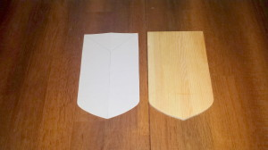 Heraldic shield 1a