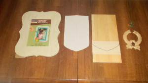 Heraldic shield -supplies
