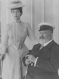 King Edward VII and Queen Alexandra 1