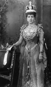 Queen Alexandra coronation dress