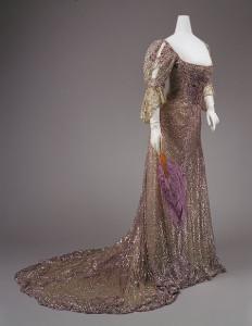 Queen Alexandra dress circa 1900