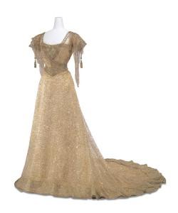 Queen Alexandra dress circa 1908