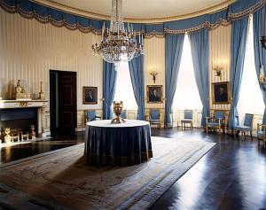 Blue Room - after Kennedy restoration