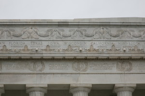 Lincoln Memorial - Friezes