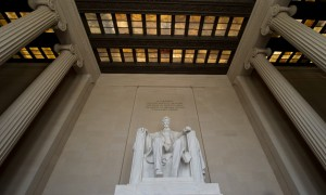 Lincoln Memorial - ceiling