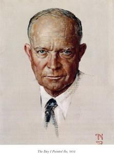 Norman Rockwell - Eisenhower portrait