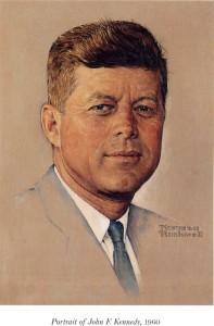 Norman Rockwell  - Kennedy portrait