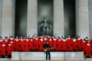Obama inaugural concert - Bruce Springsteen