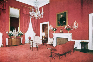 Red Room - before the Kennedy restoration - Truman admin.