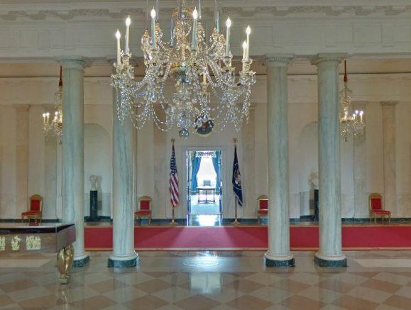 White House   Entrance Hall