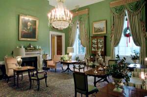 White House - Green room