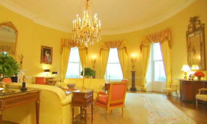 White House - Yellow Oval Room