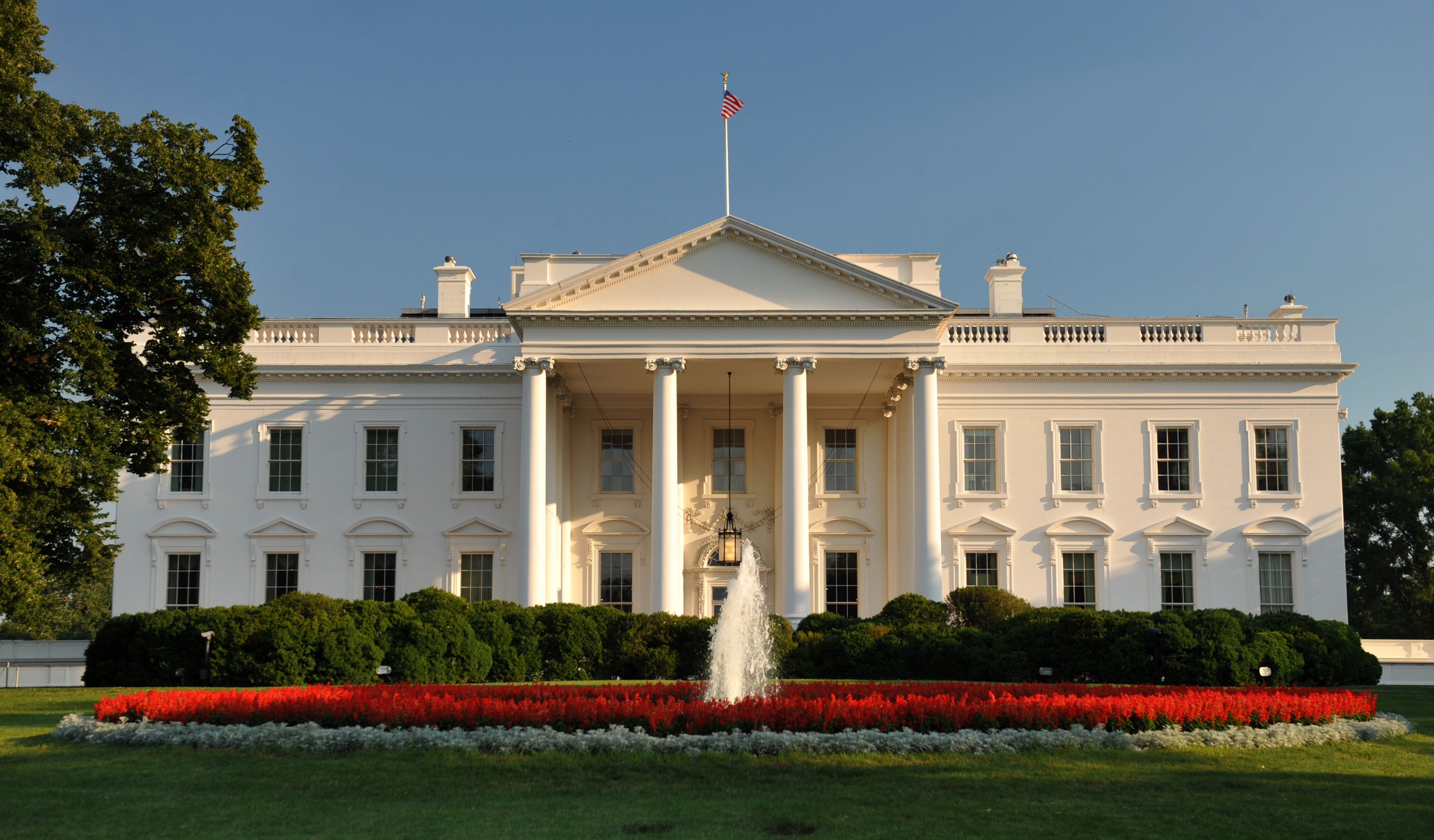 House Exterior: State Rooms Of The White House
