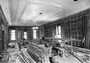 White House - renovation East Room
