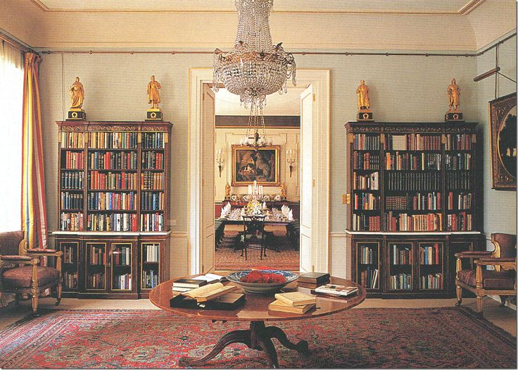 The Library Of Clarence House The Enchanted Manor