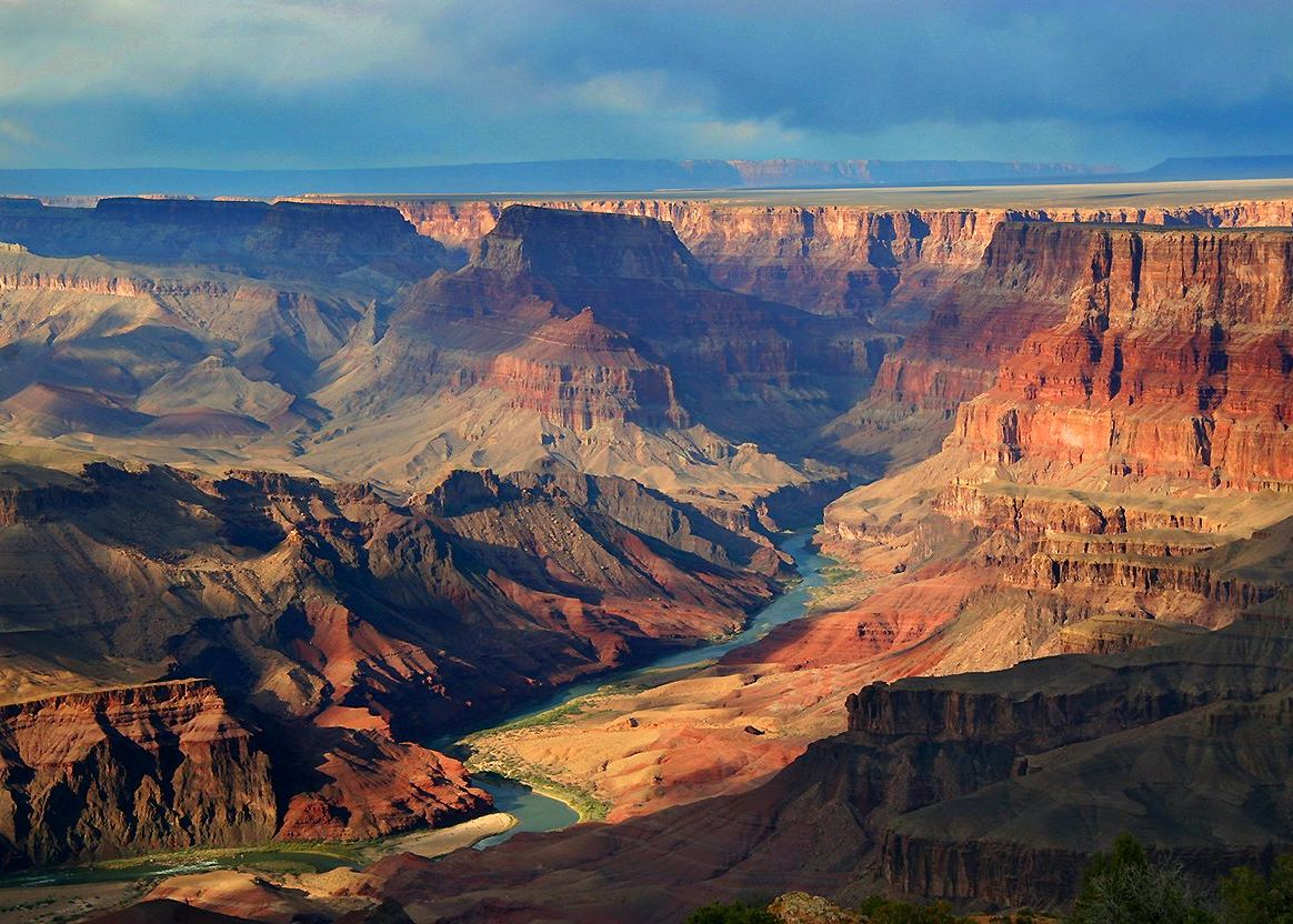 South Rim Of The Grand Canyon National Park The Enchanted