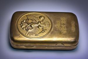 Faberege cigarette case