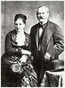 Gustav Faberge and Charlotte Jungshtedt