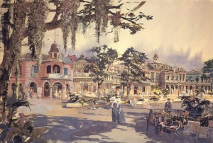 New Orleans Square - concept artwork