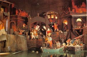 Pirates - looting scene