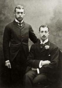 Prince Albert Victor and Prince George