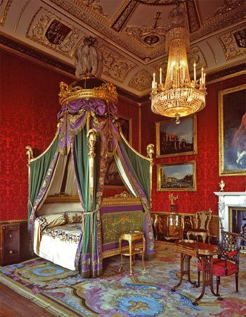 Windsor Castle King S Bedchamber