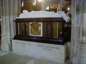 St George's Chapel - King Edward Vii and Queen Alexandra tomb 2