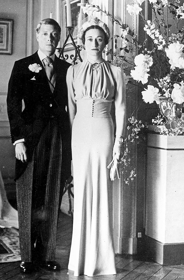 Wallis Simpson wedding dress