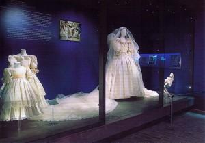 Althorp - Diana's wedding dress display