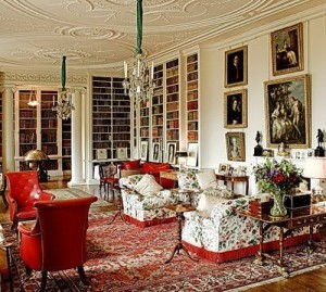 Althorp - Long Library