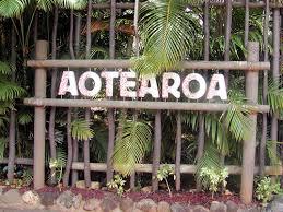 Aotearoa sign