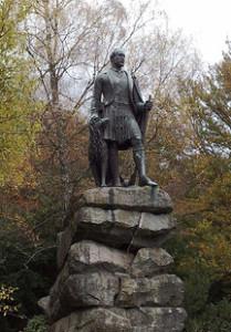 Balmoral - Prince Albert statue