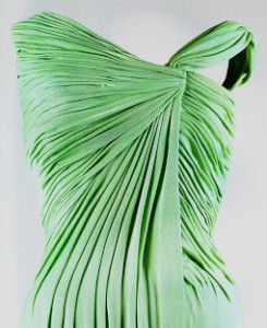 Celedon evening dress 1a