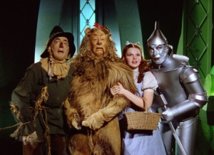 Dorothy and the friends