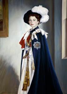 Elizabeth II - Garter Robe
