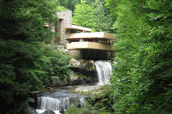 Frank lloyd wright foundation and archives fallingwater