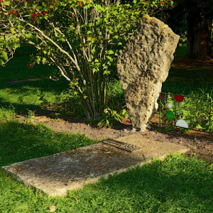Frank Lloyd Wright gravesite in Spring Green Wisconsin 1