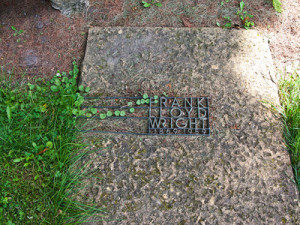 Frank Lloyd Wright gravesite in Spring Green Wisconsin 2