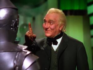 Frank Morgan as the Wizard