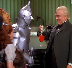 Tin Man gets a heart