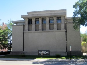 Unity Temple in Oak Park - exterior