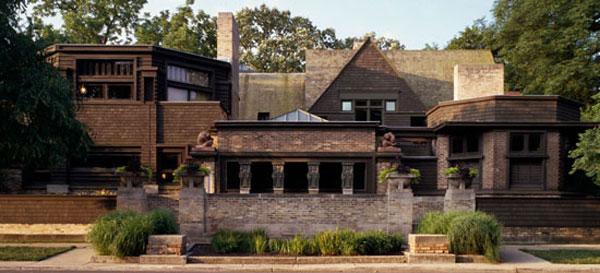 Wright home and studio - Oak Park