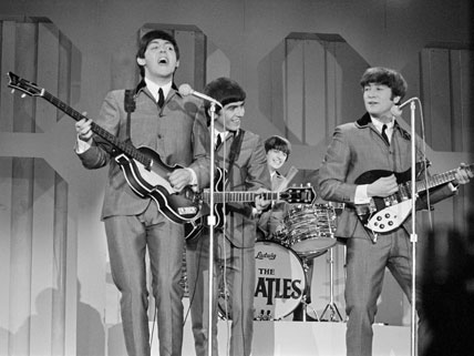 Image result for the beatles perform for the second time on the ed sullivan show